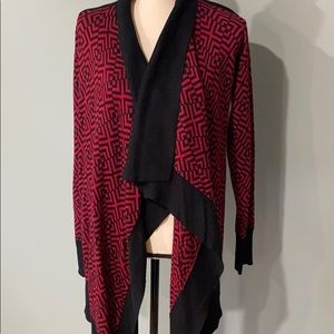 Romeo and Juliet open front asymmetrical cardigan